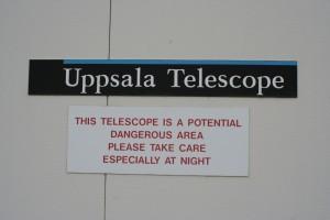 Uppsala telescope Siding Spring