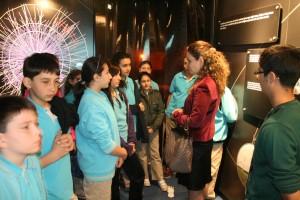Bilge Demirkoz and CERN exhibition
